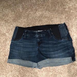 Size 2 Isabel Maternity jean shorts